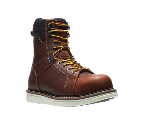 "Wolverine I-90 Durashocks CSA CarbonMax 8"" Composite Toe Work Boot"