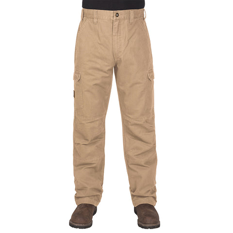 Men's Vintage Performance Work Pants by Walls - Beige
