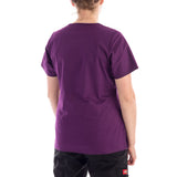Dickies Gen Flex V-Neck Black Scrubs Top - purple