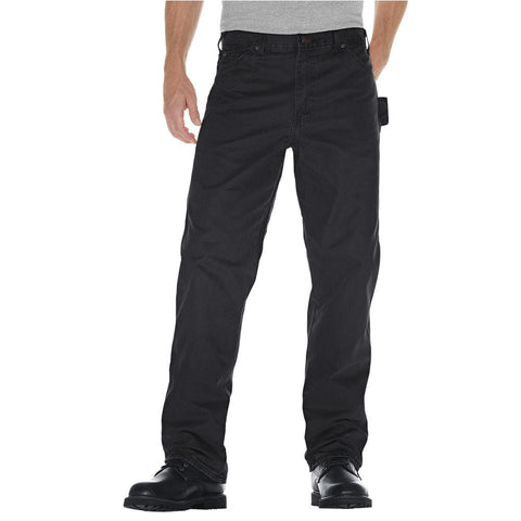 Dickies Sanded Duck Carpenter Work Safety Pant - black