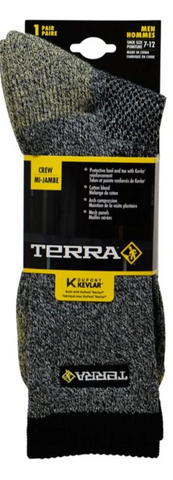 Terra Men's Kevlar Steel Toe Work Socks