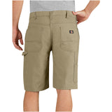 "Dickies 11"" Relaxed Fit Lightweight Duck Carpenter Work Short"