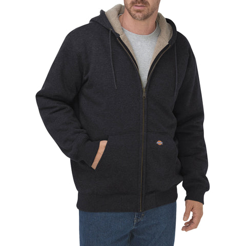 Bonded Sherpa Lined Hoodie - Oversize