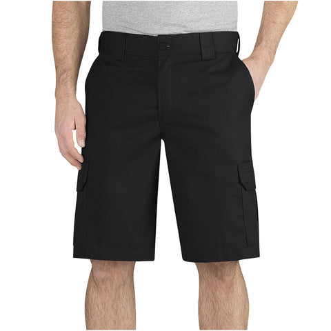 "Dickies Flex 11"" Regular Fit Cargo  Work Short - Black"
