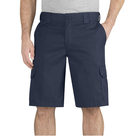 "Dickies Flex 11"" Regular Fit Cargo Work Short  WR566 - Navy"