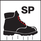 Safety Icon steel-plate