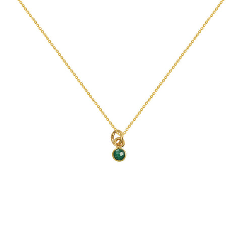 Tiny Gem Gold Necklaces