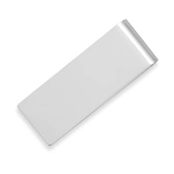 Silver Personalized Money Clip