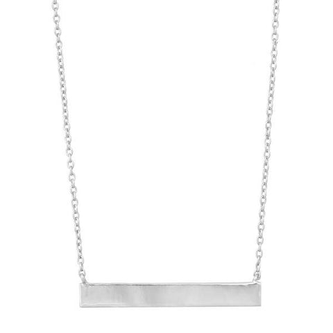 Side Bar Necklace