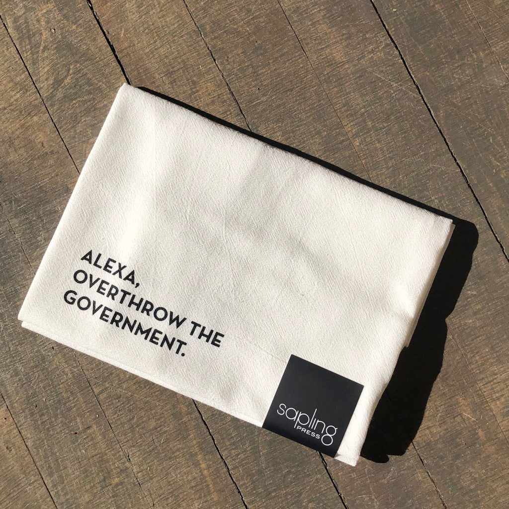 Alexa Tea Towel by Sapling Press - Upstate MN