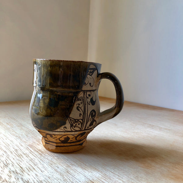Earthenware Cup 1 by David Swenson - Upstate MN