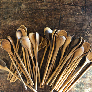 Teak Stirrer Spoon – Medium Short - Upstate MN