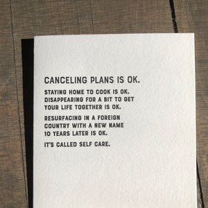 I Declare: OK Letterpress Greeting Card by Sapling Press - Upstate MN