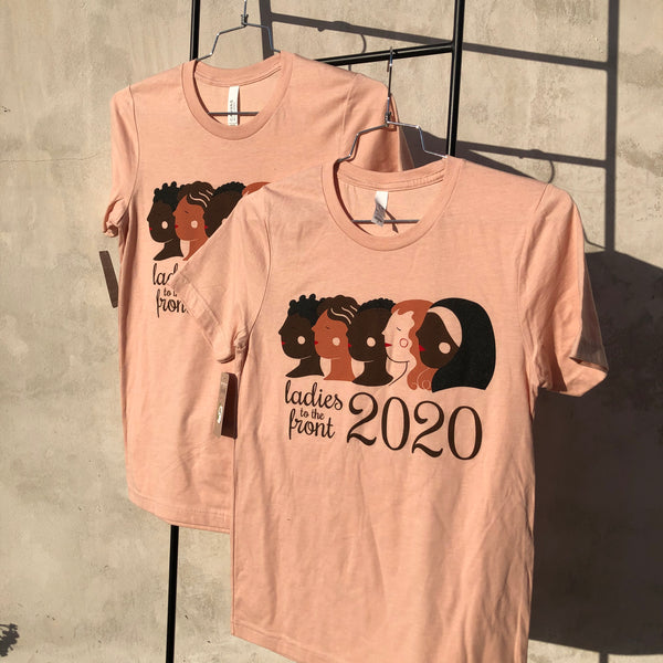 Ladies to the Front 2020 Short Sleeve Adult T-shirt