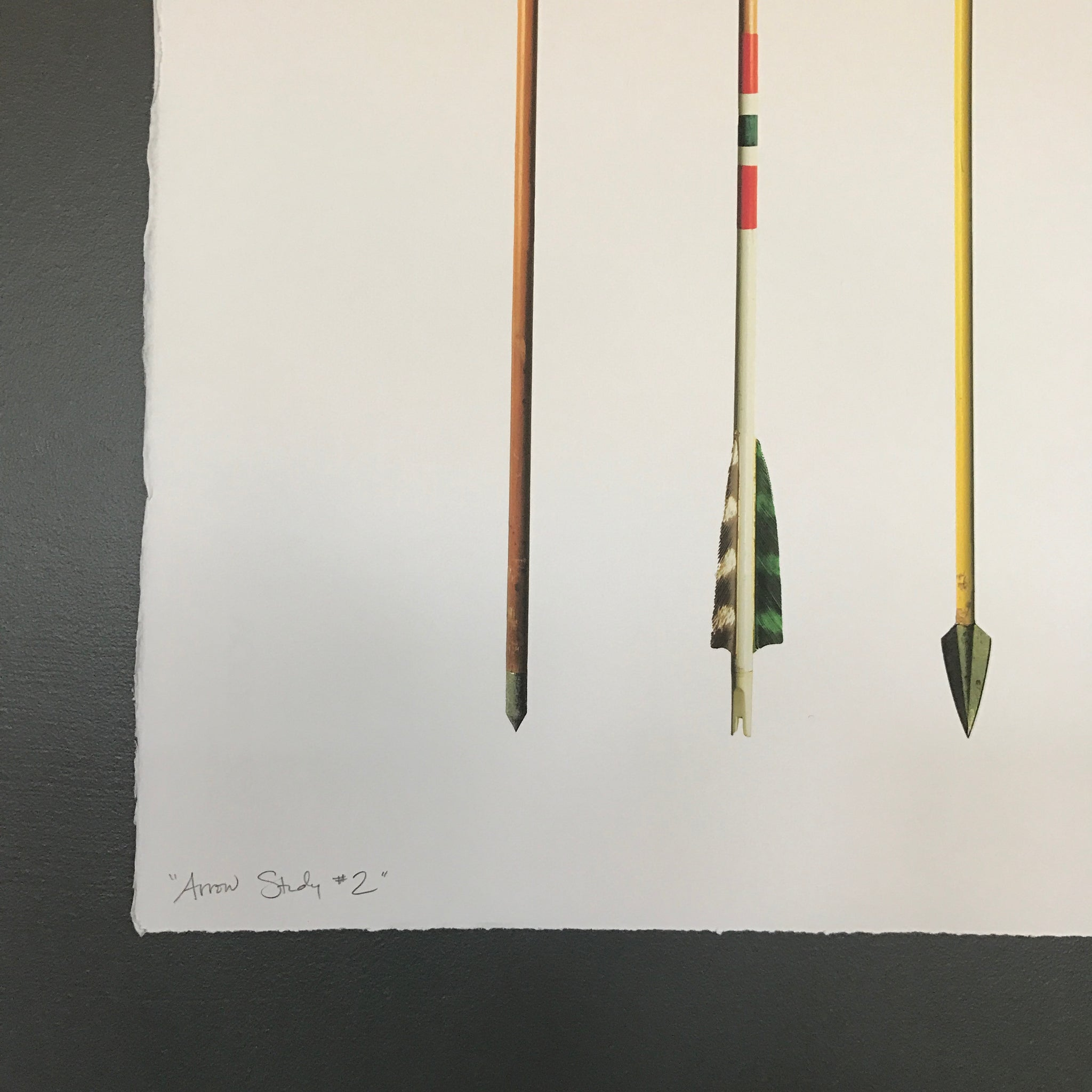 Vintage Arrow Study Number 2 by Barloga Studios