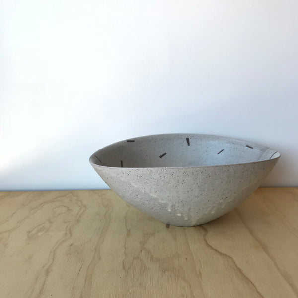 Large Ceramic Bowl by Adam Greutzmacher - Upstate MN