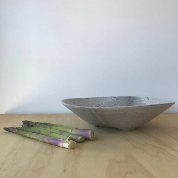 Low Ceramic Bowl 3 by Adam Greutzmacher