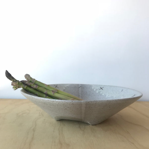 Low Ceramic Bowl 2 by Adam Greutzmacher