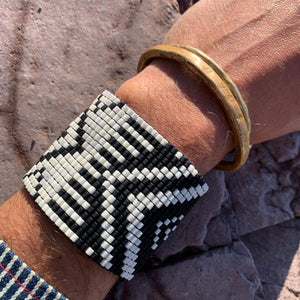 Andes Bead Mosaic Bracelet by Julie Rofman
