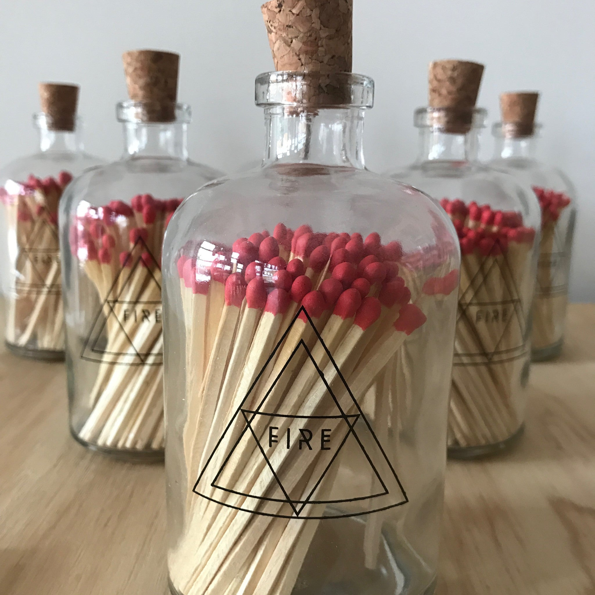 Apothecary Jar Alchemy Matches by Skeem Design - Upstate MN