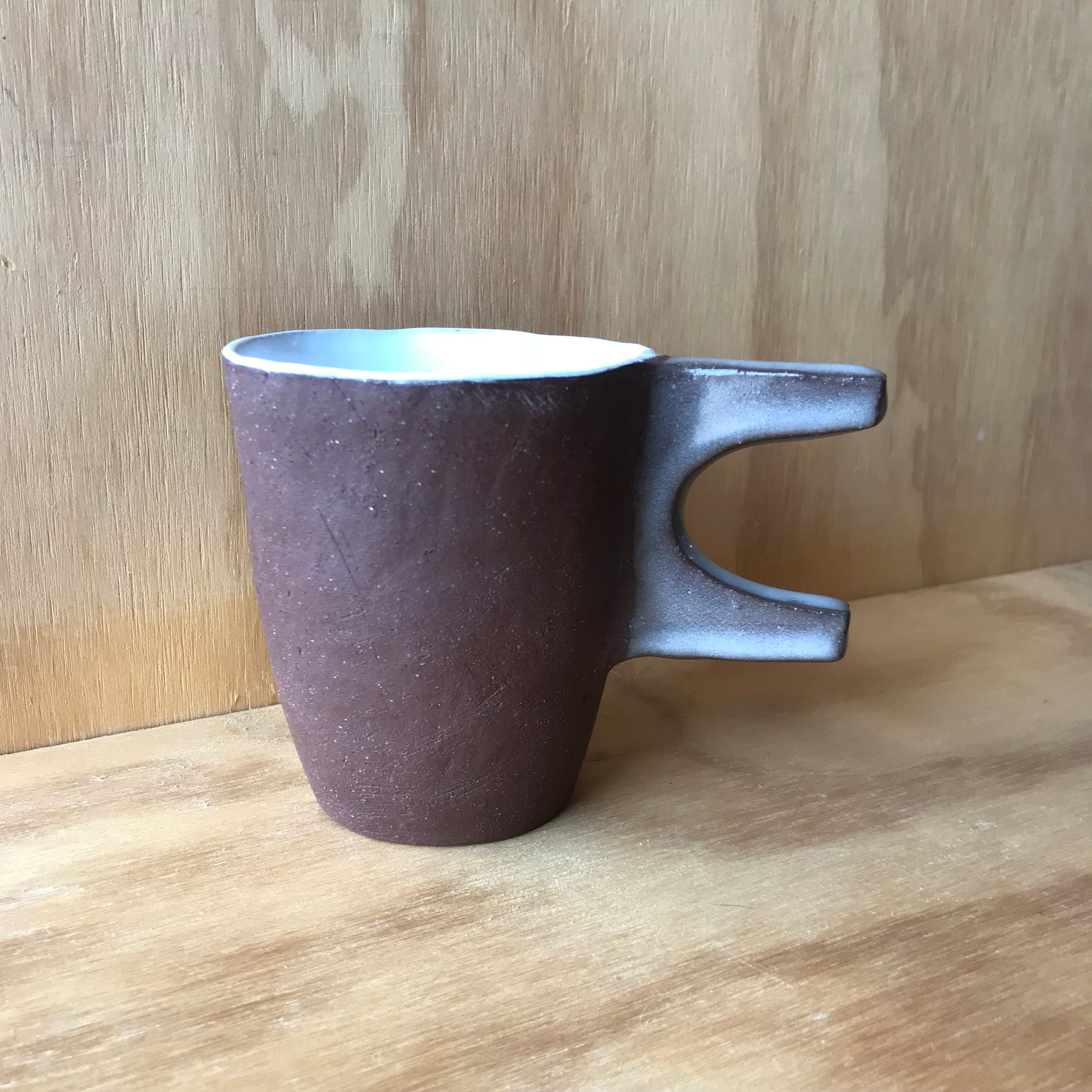 Aquatic Mug E by Carnavale Clay