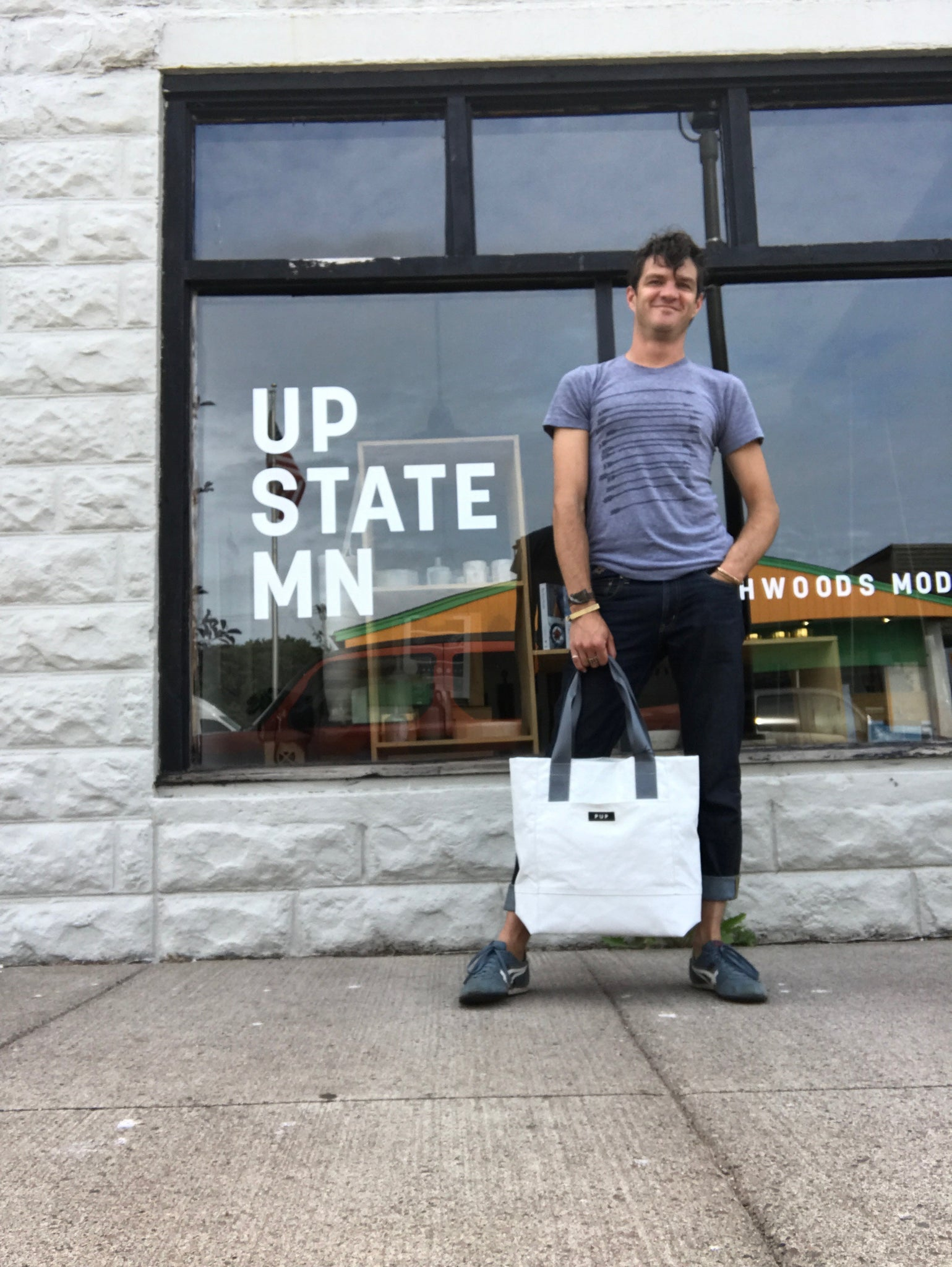 Archivist Dome Bag by People for Urban Progress - Upstate MN