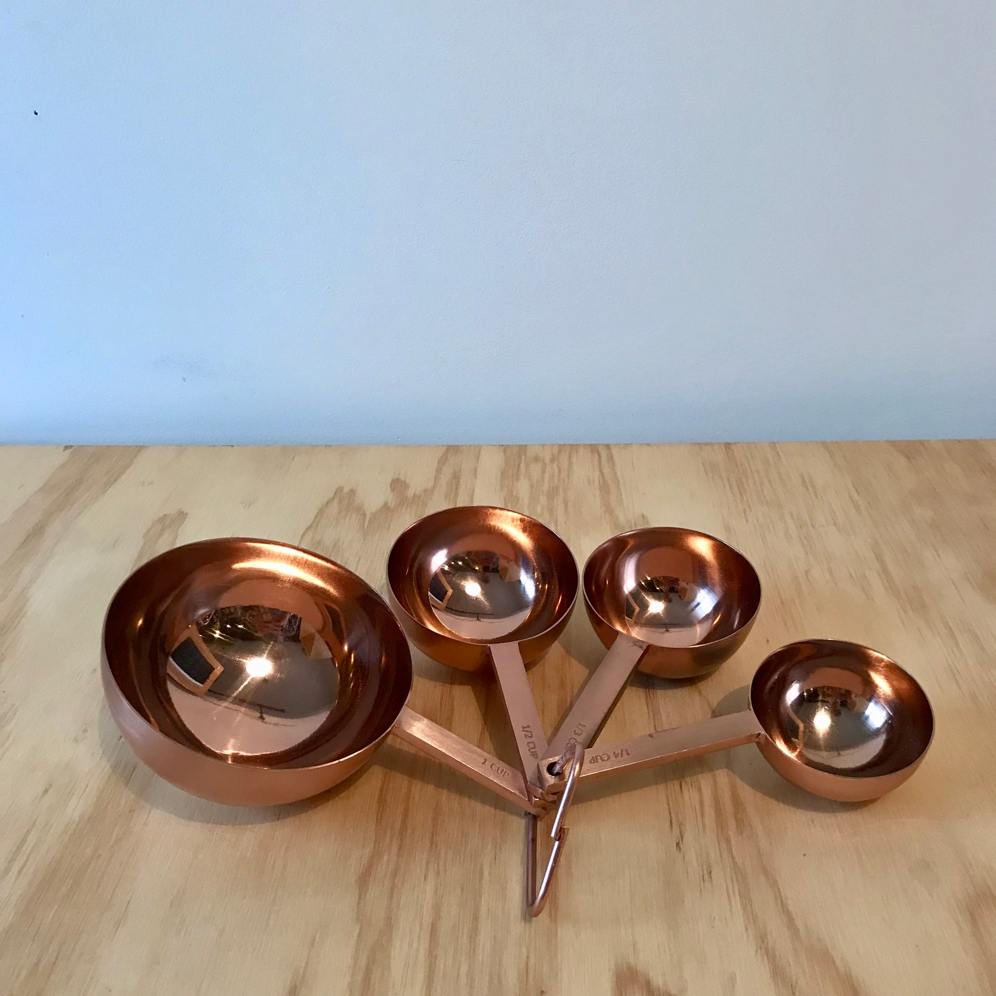 Copper Toned Measuring Cups - Upstate MN
