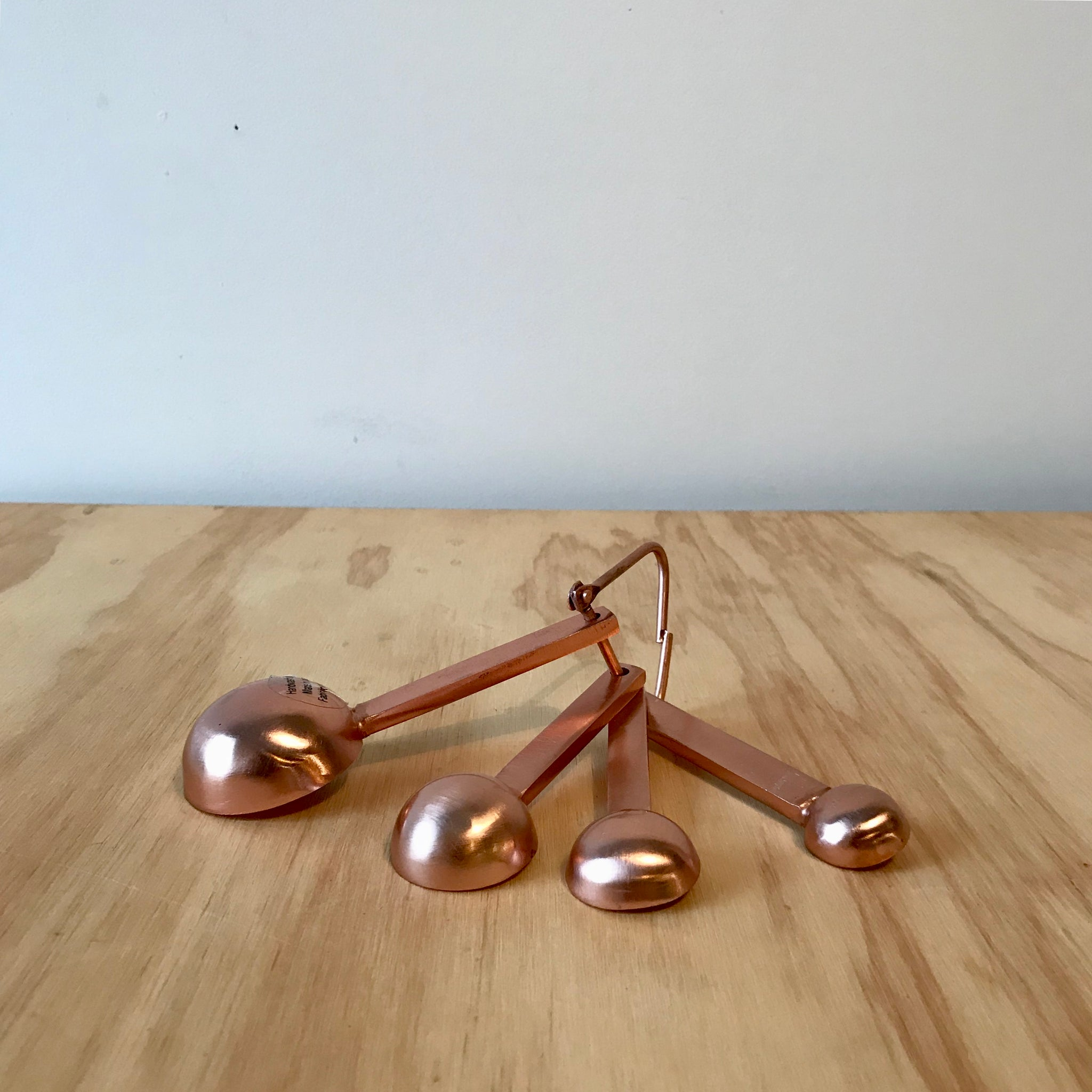 Copper Toned Measuring Spoons - Upstate MN