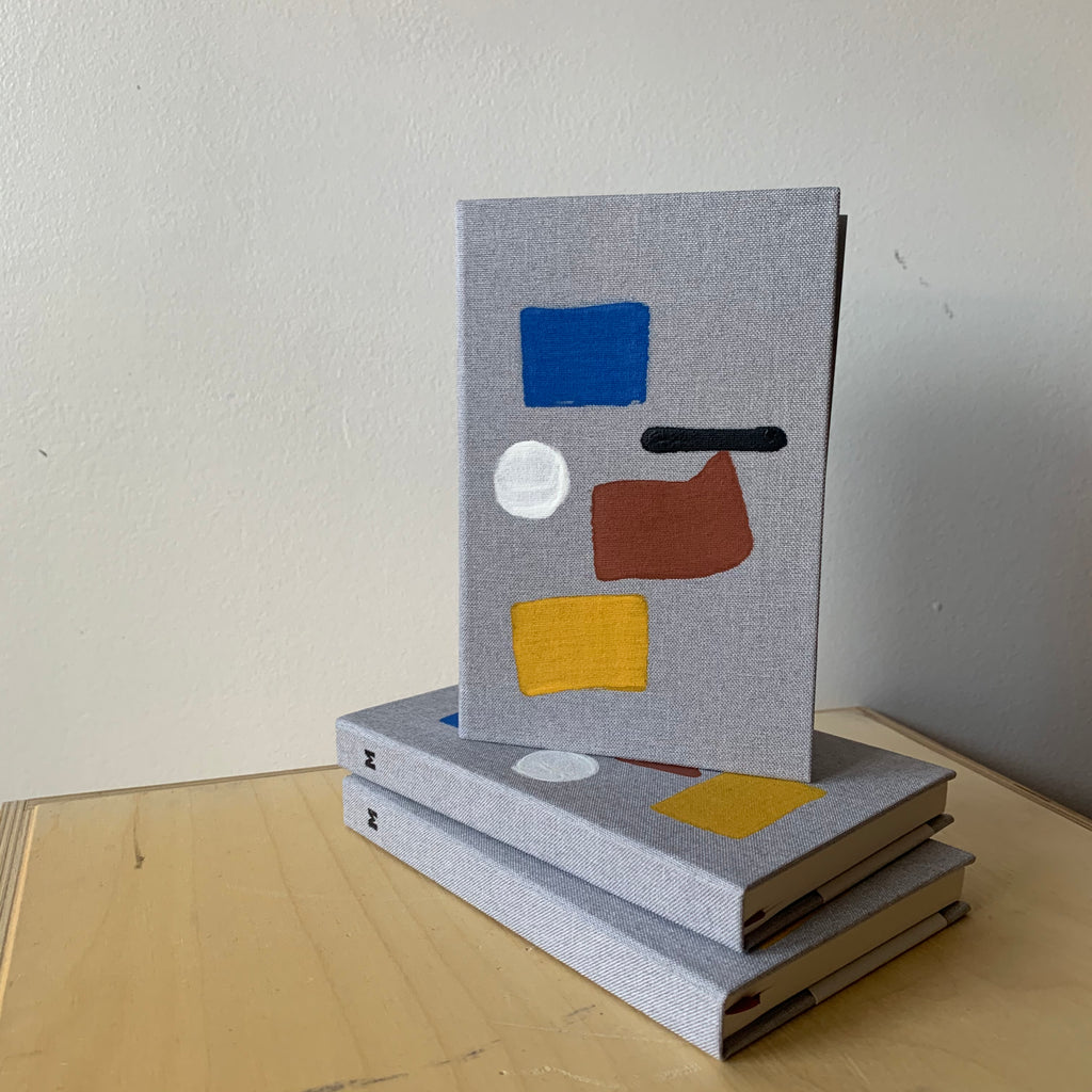 Bernice Small Cloth Hardbound Notebook By Mōglea