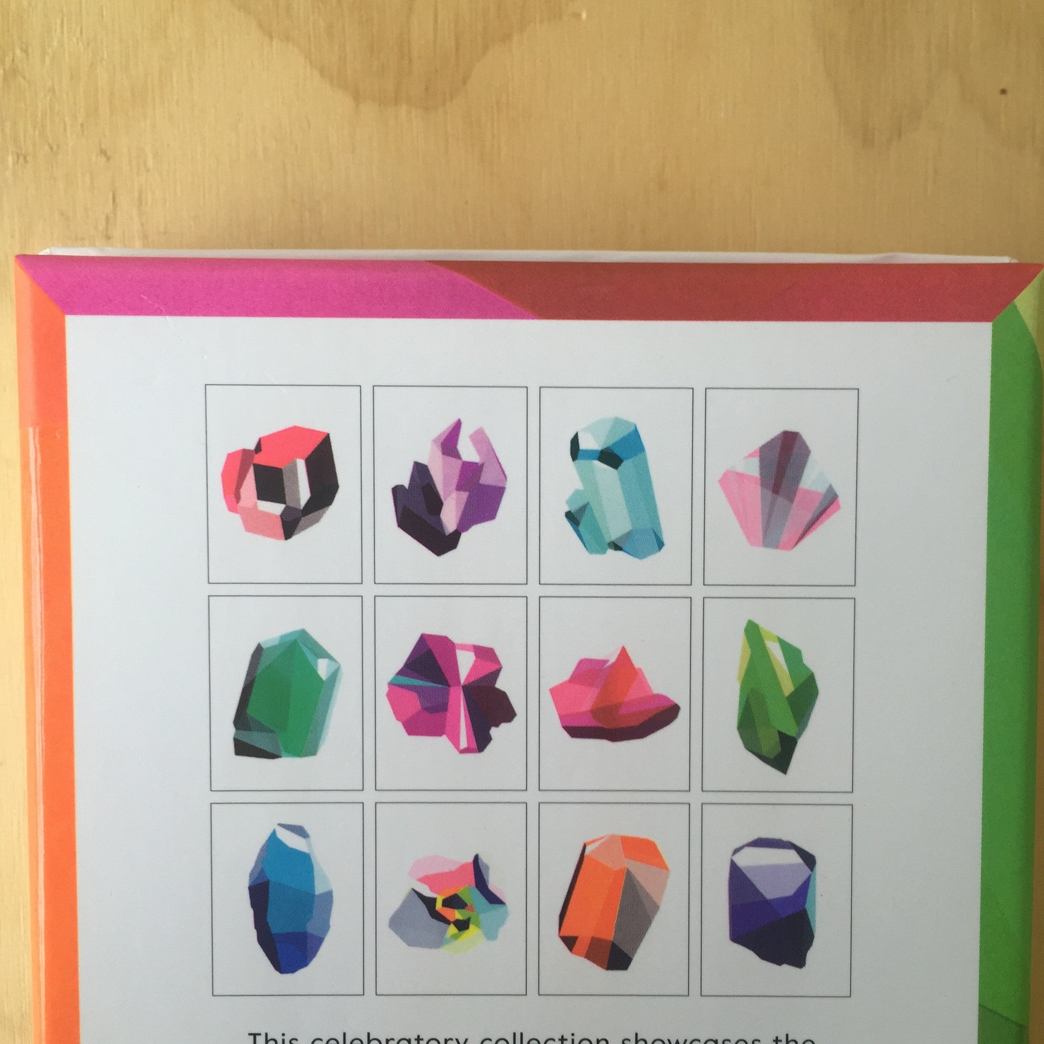 Birthstone Notecards by Elisa Werbler - Upstate MN