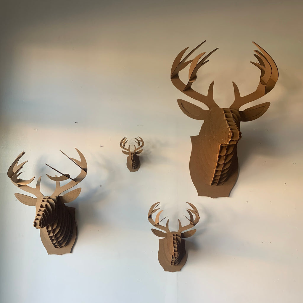 Bucky The Deer Cardboard Mount Kit by Cardboard Safari