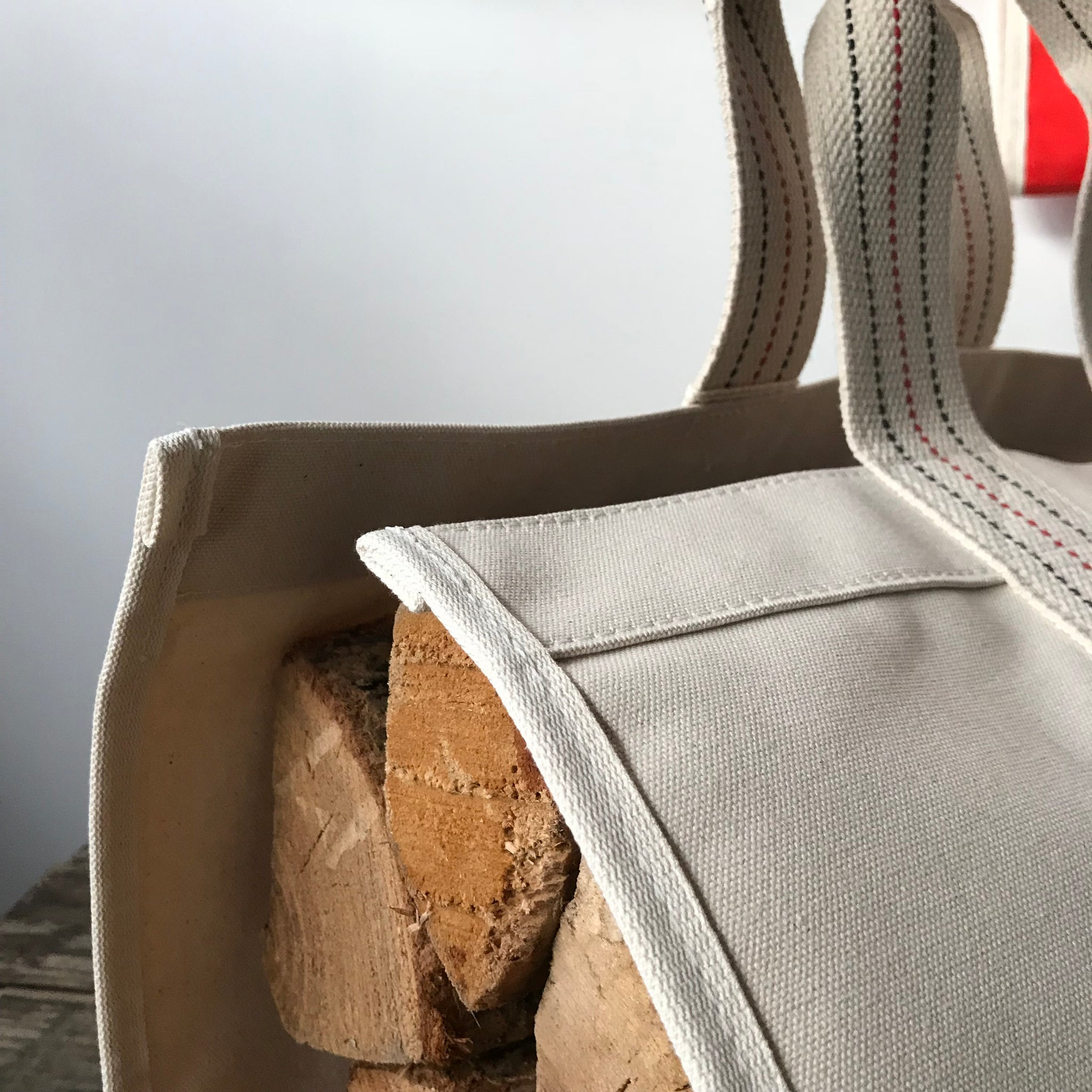 Canvas Logger, Carrying Tote by Utility Canvas - Upstate MN