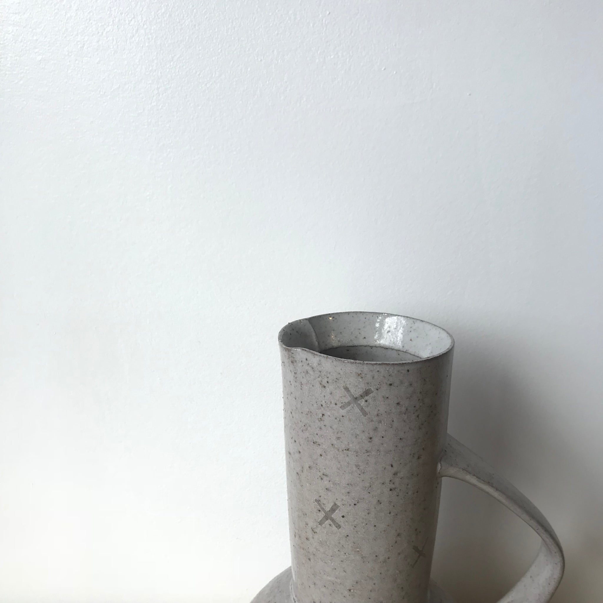 Ceramic Bulb Vase by Adam Greutzmacher - Upstate MN
