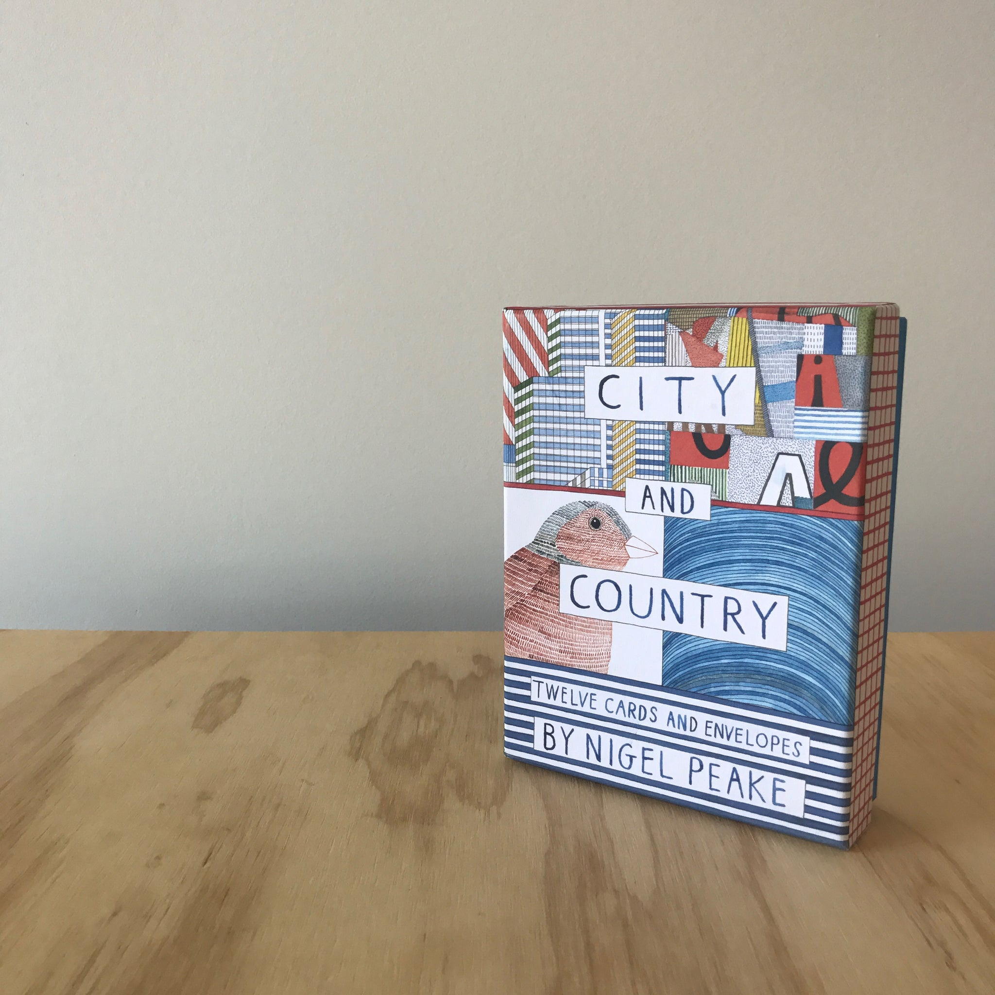 City and Country Notecards by Nigel Peake