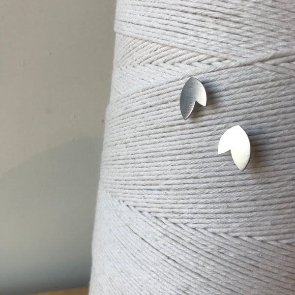 The Minimal Form Stainless Steel Disamare Earrings by Days of August