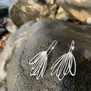 Stainless Steel Echo Earrings by Insync Design