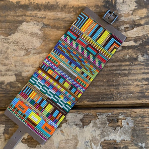 Extra Large RIO Bead Mosaic Bracelet by Julie Rofman - Upstate MN
