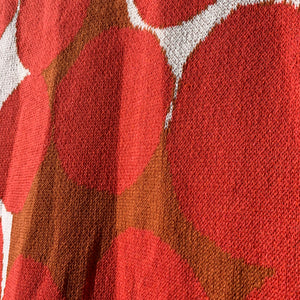Huey Eco Throw in Red by Suzy Pilgrim Waters for In2Green