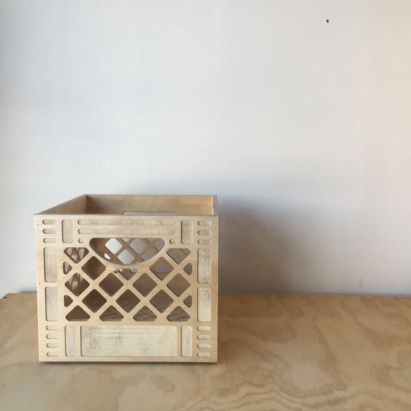 Standard Wooden Crate by WAAM Industries