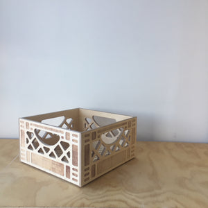 Short Square Wooden Crate by WAAM Industries - Upstate MN