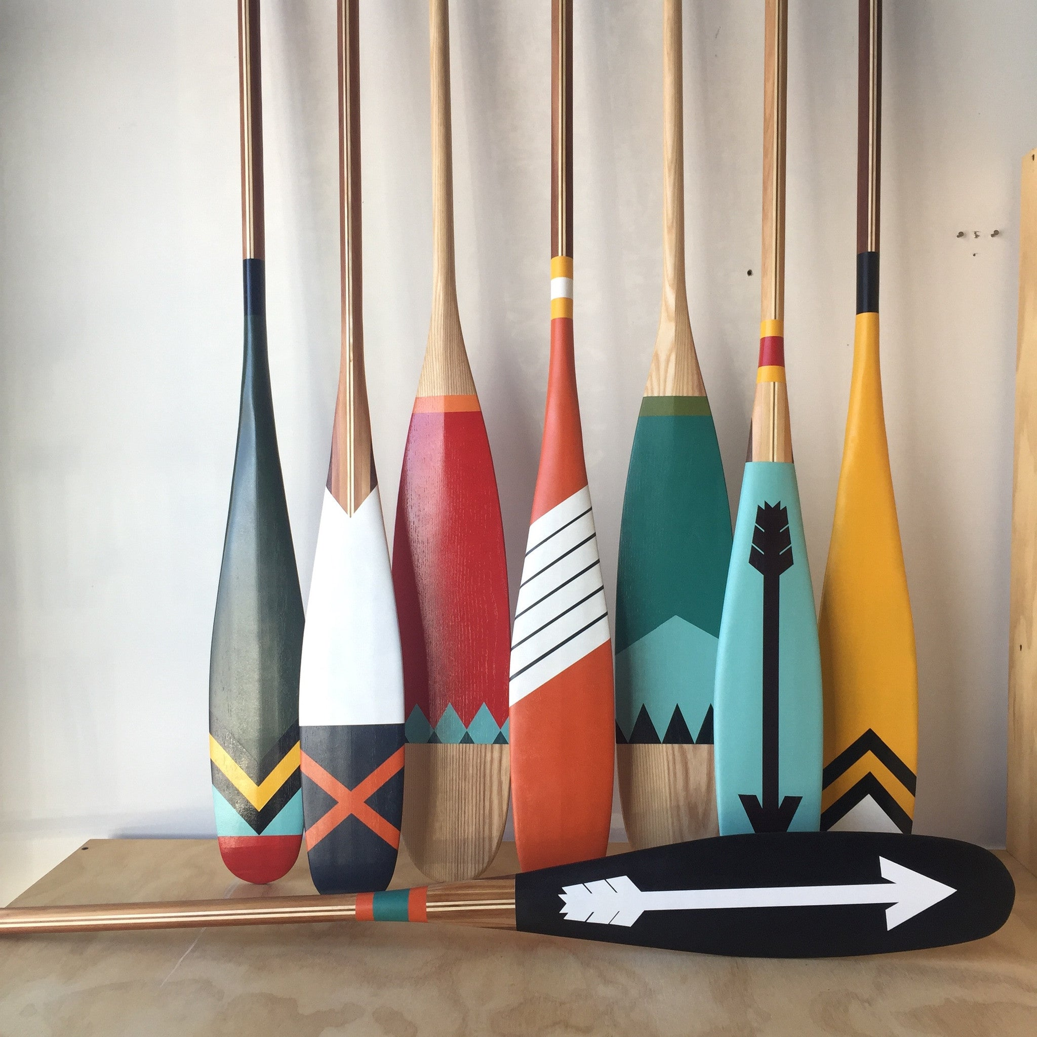 West Handmade Artisan Paddle by Sanborn Canoe
