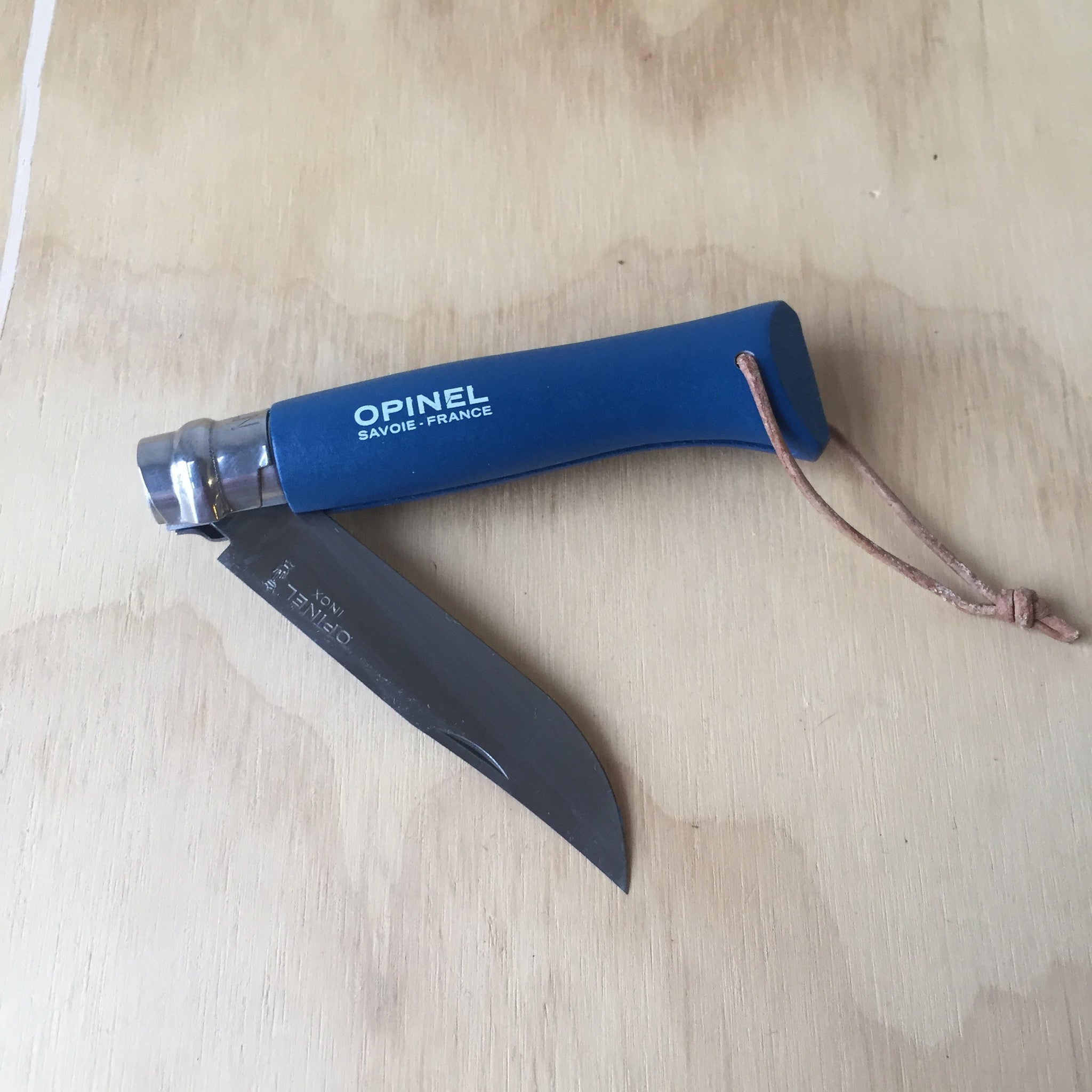 Opinel No. 8 Trekking Knife Blue - Upstate MN