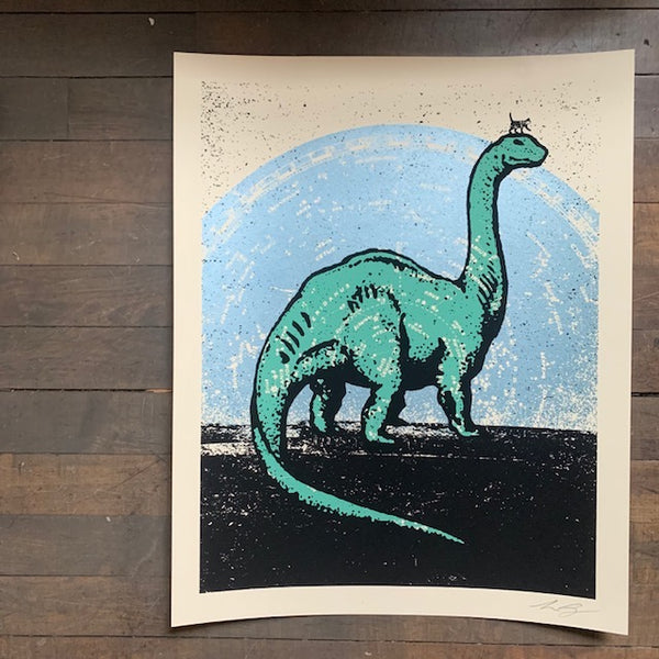 I FEEL BIG Screenprint by Aesthetic Apparatus - Upstate MN
