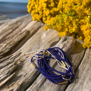 Irena Bracelets in Summer Blues by Son of a Sailor