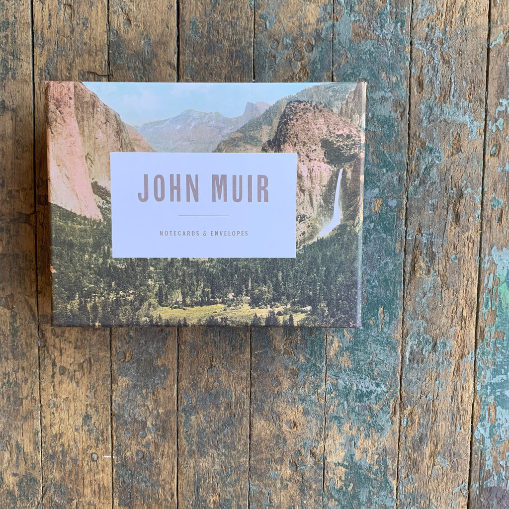 John Muir Notecards - Upstate MN