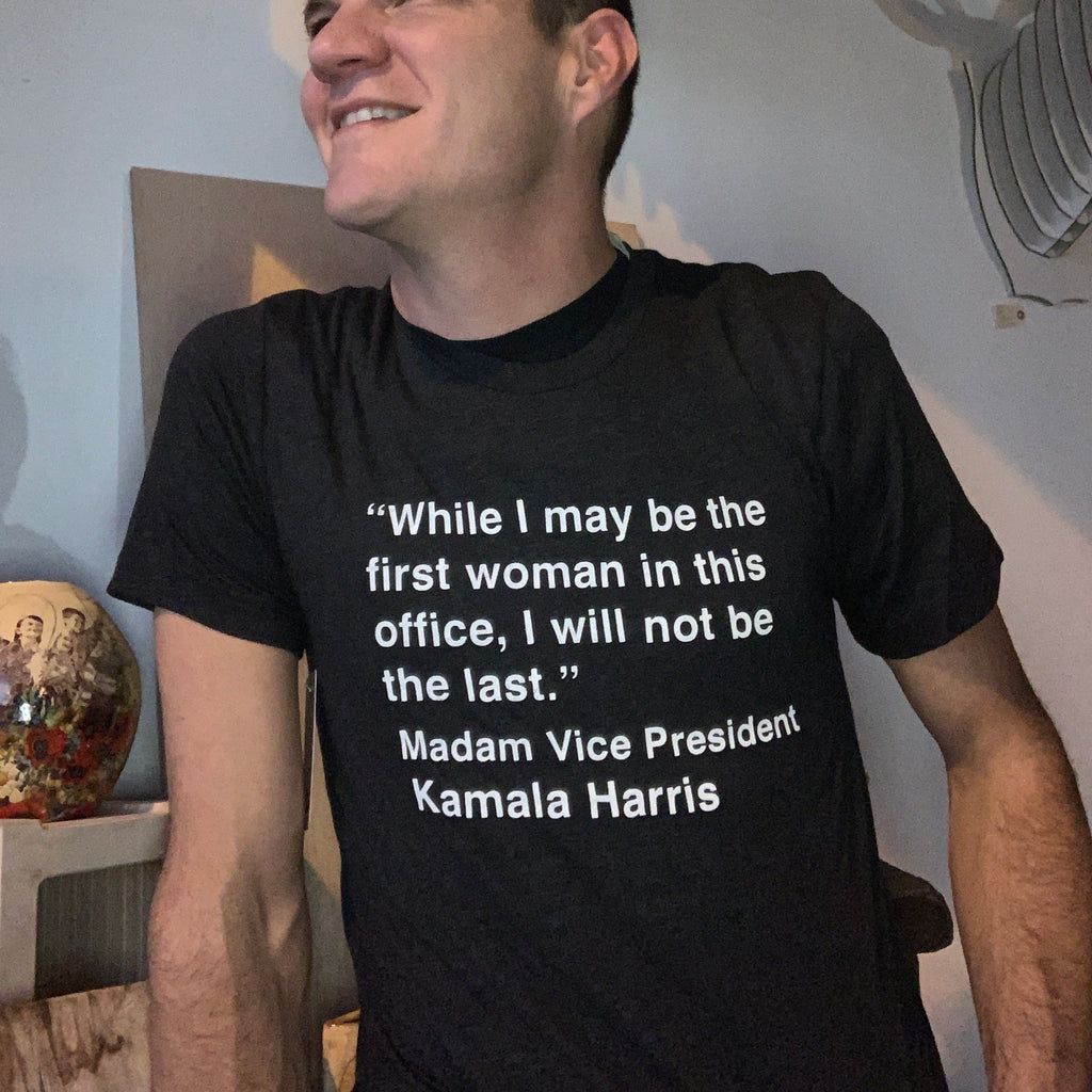 Kamala Harris Adult T-shirt