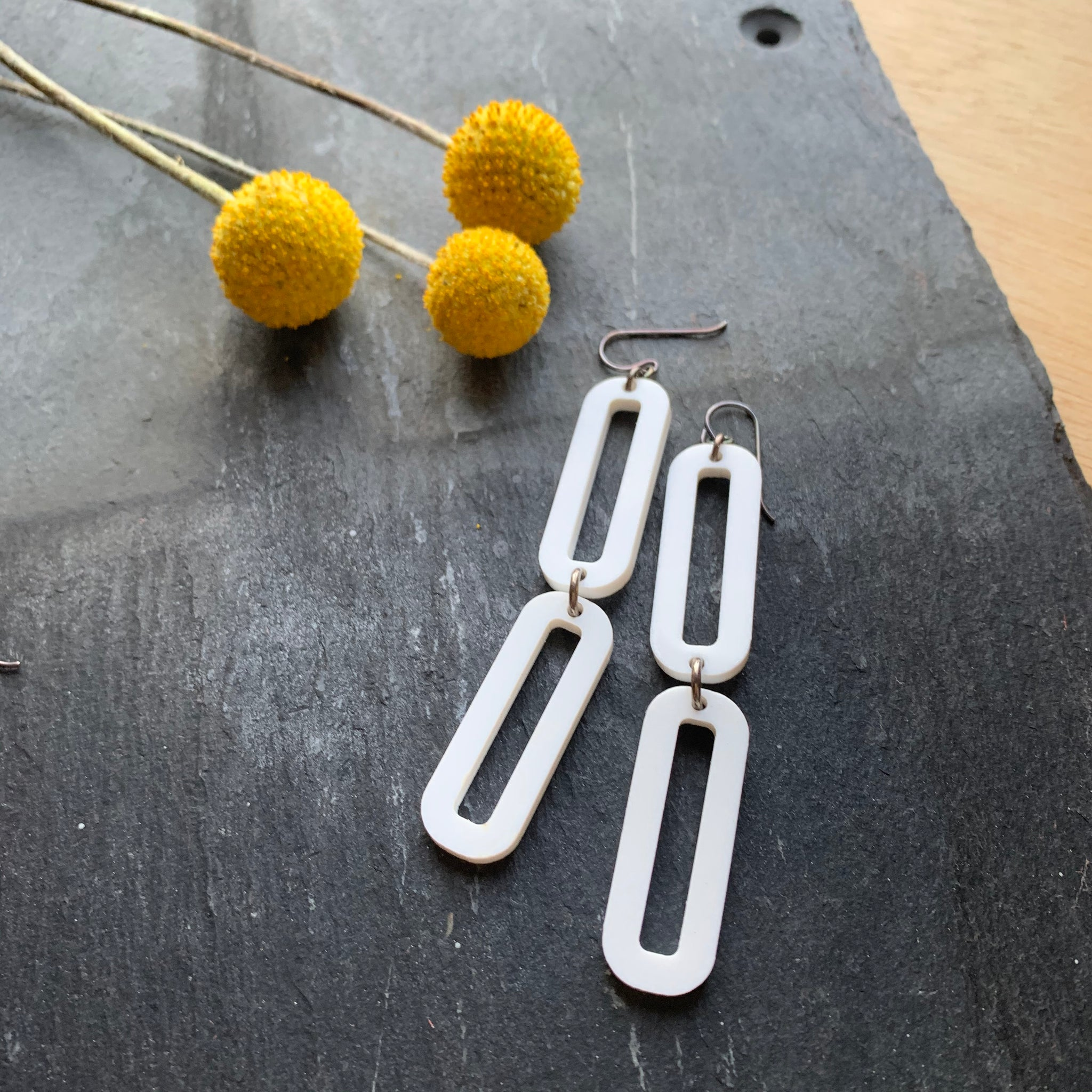 LINK 2 Earrings by Silvercocoon - Upstate MN
