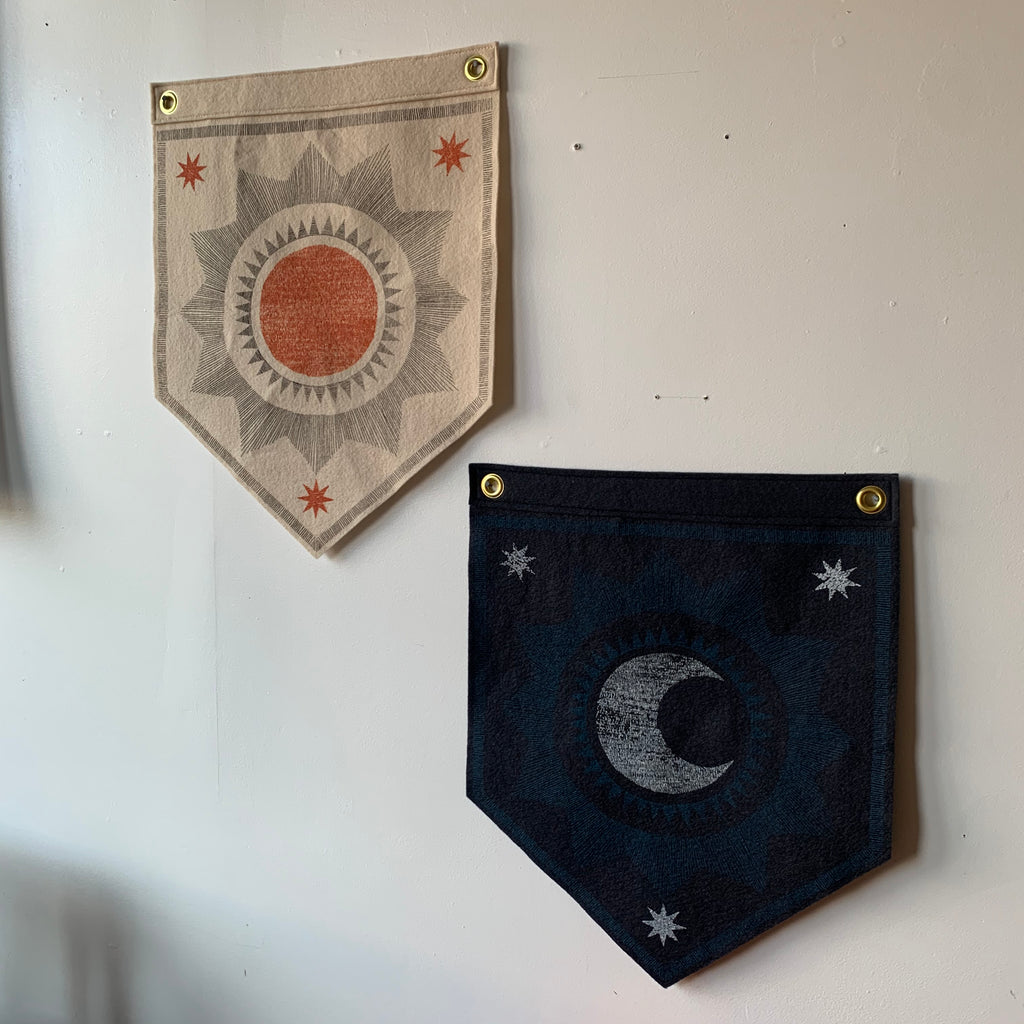 Large Felt Banners by The Rise and Fall