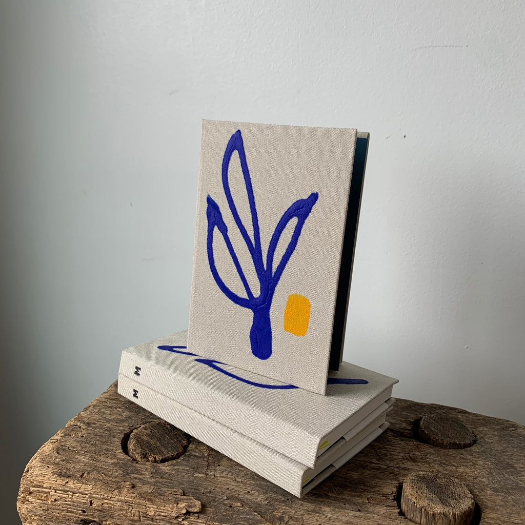 Leaf Small Cloth Hardbound Notebook By Mōglea