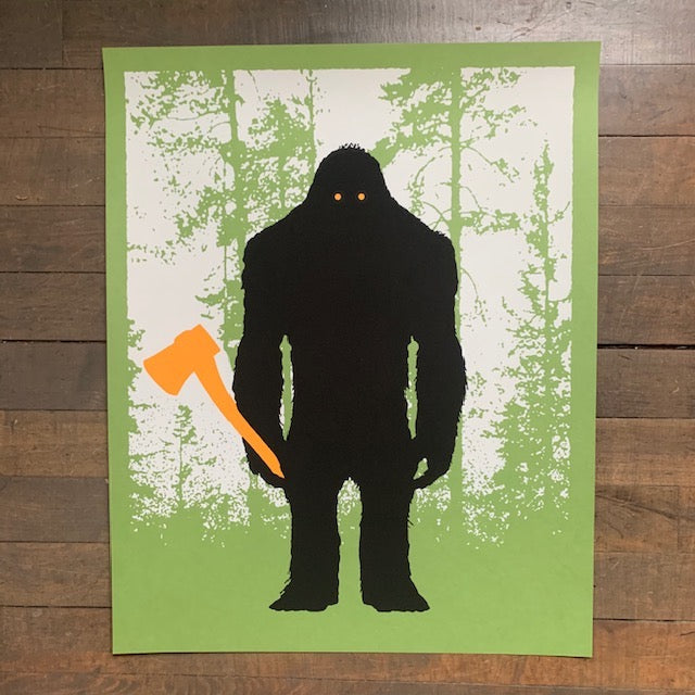 Lumber Beast Screenprint by Aesthetic Apparatus - Upstate MN